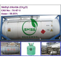 99.9% Methylchloride газа в ISO-танк