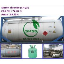 Bon chlorure chylcl de méthyle de prix, le tambour en acier 200L / tambour de produit, ISO-TANK humidité 0.01% 99.9% pureté