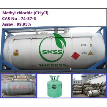 99,9% de chlorométhane chlorométhane pour la Malaisie en isotank