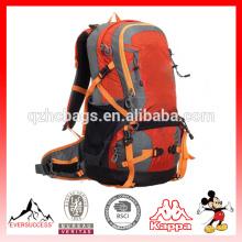 Venda quente fabricante de ombro duplo atacado multi-funcional mochila de montanhismo mochila ao ar livre