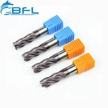 Wolframkarbid-Stahl-Bearbeitungsfräser, CNC-Endfräswerkzeug