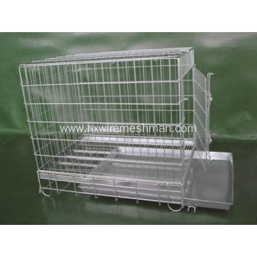 Stainless Steel Welded Pet Cage