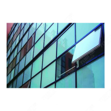 Nuevo diseño de muro cortina de vidrio sin marco