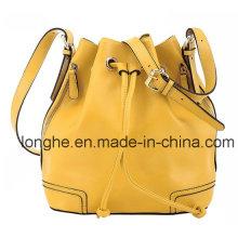 Fashion Side Pockets Bucket Crossbody Bag (LY0111)