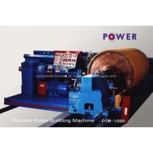 Máquina de enrolamento de rolo de borracha da fábrica para a indústria de papel