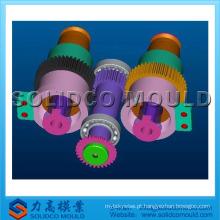 molde de engrenagem helicoidal de plástico