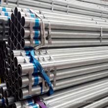 Pre-Galvanized Gi Steel Pipe in Stock with 6m Length