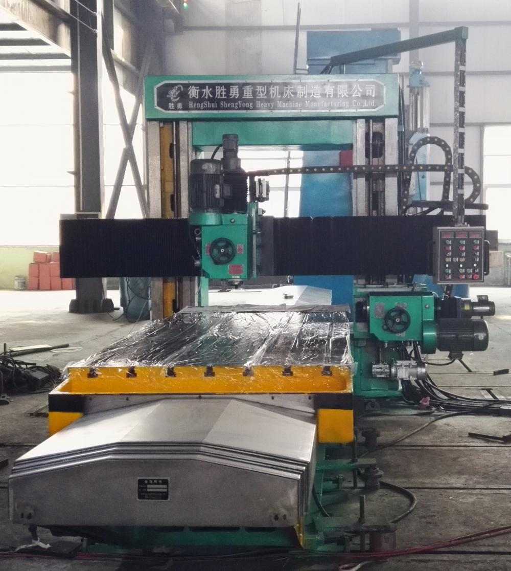 Manual double Column milling machine