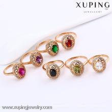 11817- bagues en pierre de grands bijoux de pierres précieuses de Xuping pour des femmes avec la bonne qualité
