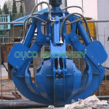 Orange Peels SMAG Electro-Hydraulic Grab Bucket