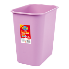 plastic square trash can