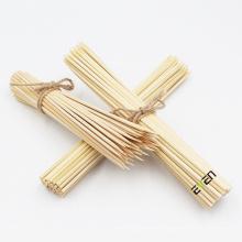 Disposable round BBQ sticks Bamboo Kebab Skewers