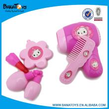 Moda rosa chica belleza conjunto de juguetes