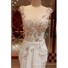 Chiffon Beading Mermaid Bridal Wedding Dresses