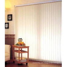 Window Curtain 89mm Width 100% Polyester Fabric Vertical Blind