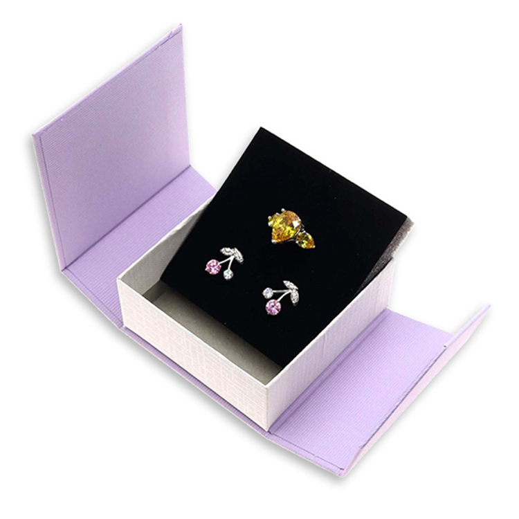 Custom Paper Cardboard Earring Packaging Box For Gift