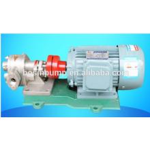 stainless steel food oil transfer gear pump price/high pressure pump