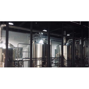 Fabricado a medida 10HL 4 Vessel Microbrewery Equipment