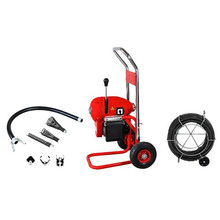 D-200-1A machines électriques portatives de nettoyage de drain pour la vente, nettoyeur de drain, CE