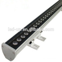 Fábrica de alta qualidade Produtos patenteados 12W DMX RGB 1000mm LED parede arruela luz IP65