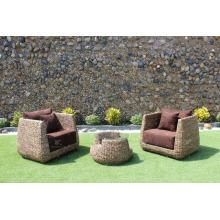 Hot sales Water Hyacinth Large Living Sofa Indoor Home Furniture WAIS-223