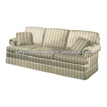 French style stripe pattern living room sofa XY0979