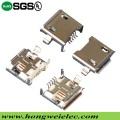 5 Pin Female Micro USB Stecker