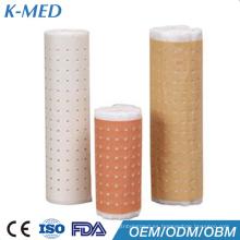 cinta adhesiva de yeso material médico para vendaje de heridas