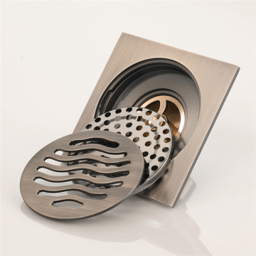 HIDEEP Antique Copper Anti-odor Floor Drain