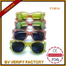 Красочные солнцезащитные очки с зеркалом объектив оптом от Wenzhou (F15816)