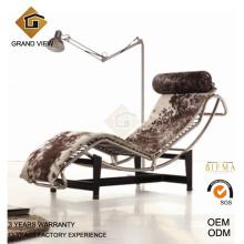 Poney en cuir chaise Le Corbusier (GV-LC4)