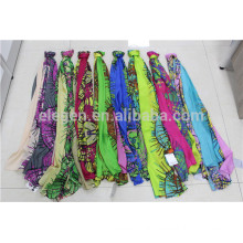 In Stock Polyester Abstract Pattern Printed Scarf