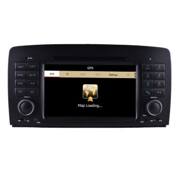 Special Car DVD GPS Videos for Mercedes-Benz R W251 R280/R320/R350/R500 with Bluetooth/Radio/RDS/TV/Can Bus/USB/iPod/HD Touchscreen Function (HL-8824GB)