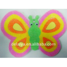 butterfly sand drawing