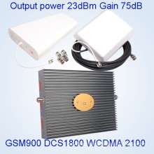 Tri Band Signal Booster GSM/Dcs/WCDMA 900/1800/2100MHz Cellphone Signal Repeater St-9182