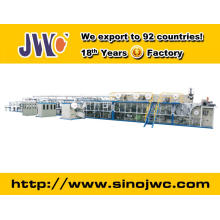 2015 Full Servo Pull Up Baby Diaper Machine