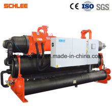 R134A Ethylene Glycol/Brine Water Cooled Screw Water Chiller