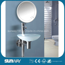 Lavatório de vidro temperado com certificado