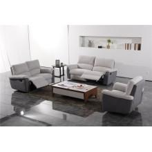 Canapé de salon avec canapé moderne en cuir véritable (433)