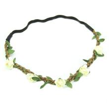 New Design Daisy Flower Headbands for Women Braided (HEAD-314)