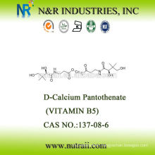 d-calcium pantothenate vitamin b5 CAS# 137-08-6 USP28/BP2003