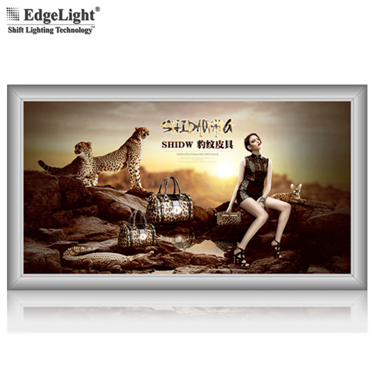 Edgelux AF32A high bright 10.25mm thickness led panel light ceiling with v cutting and laser dotting
