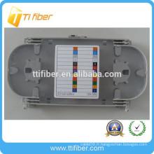 Plate-forme d'épissure concurrentielle transparente à fibre optique à 12 cœurs