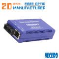Convertidor de Ethernet de fibra óptica monomodo de 10/100 / 1000M