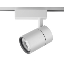 Внутренние светодиодные трековые светильники с белым корпусом