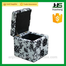 Modern multifunction home stool, foldable ottoman stool, footrest
