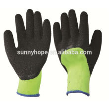 Sunnyhope green safety industriehandschuhe, latexbeschichteter handschuh en388