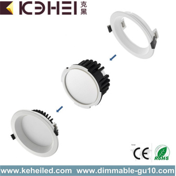 Downlights LED de 4 pulgadas, blanco, 12W o 15W