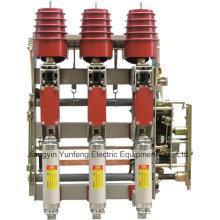 Commutateur Hv à unité de combinaison de fusibles avec interrupteur de mise à la terre