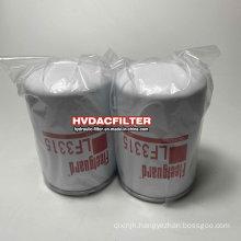 Manufacturer Supply Fleetguard Hydraulic Oil Filter Element Lf3315 Oil Fuel Filter